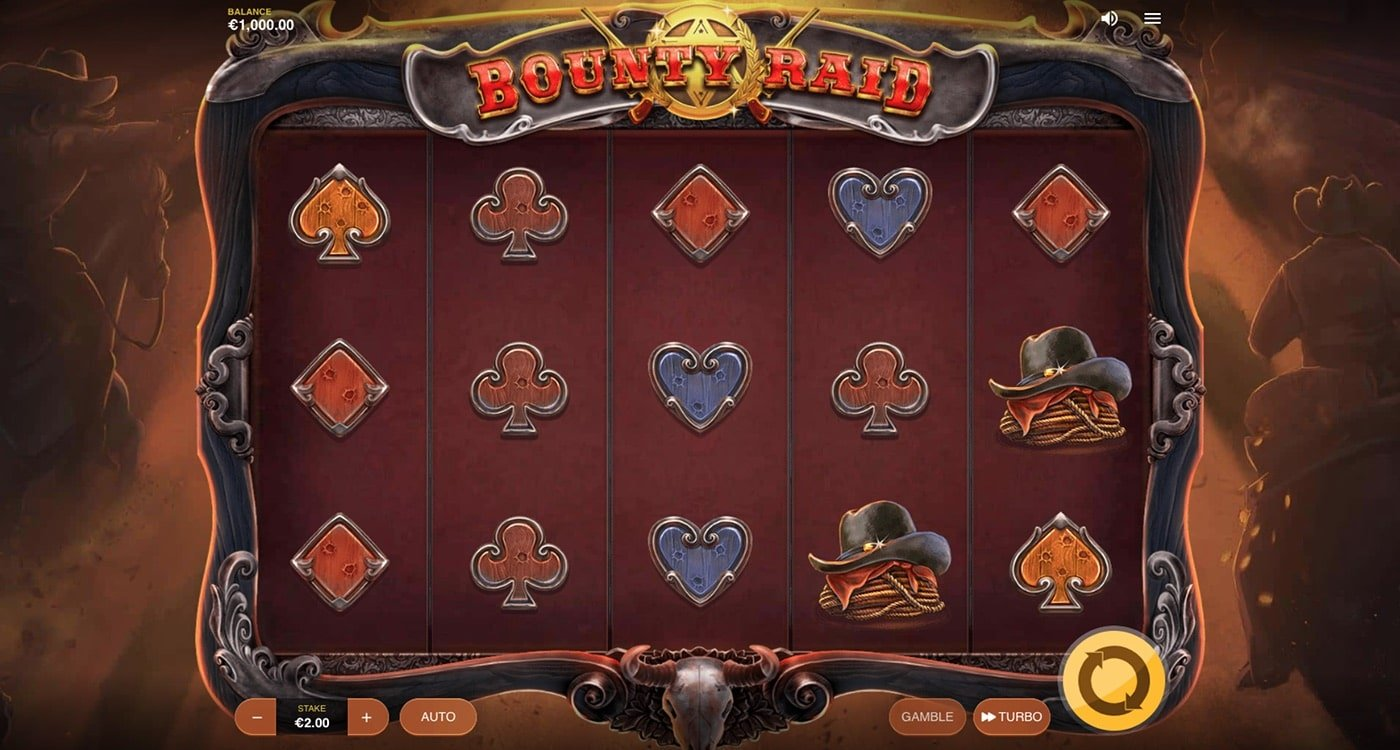Bounty Raid Slot Red Tiger