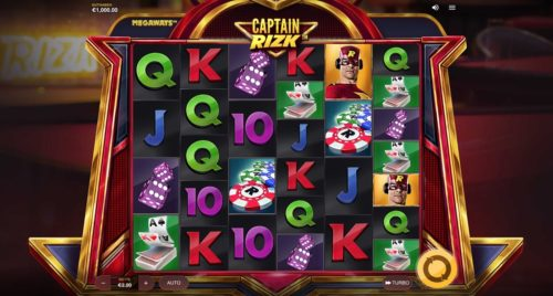 Captain Rizk Megaways Slot Red Tiger