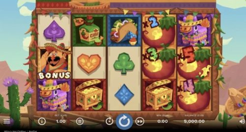 Willy's Hot Chillies Slot Net Entertainment