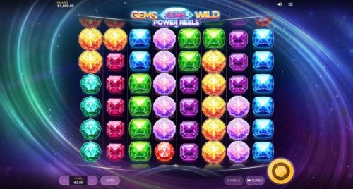 Gems Gone Wild Power Reels Slot Red Tiger