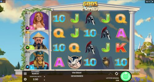 Gods of Power Slot Microgaming