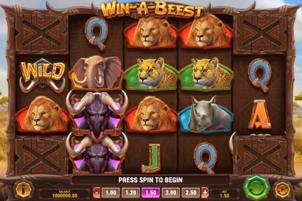 Win a Beest Slot Play'n Go