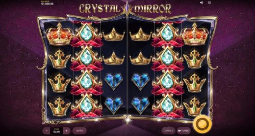 Crystal Mirror Slot Red Tiger