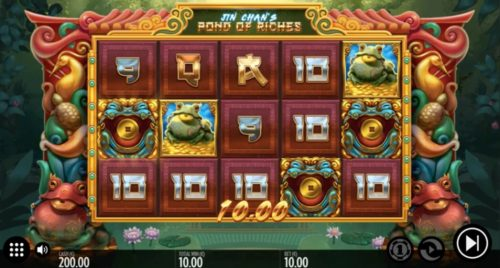 Jin Chan´s Pond of Riches Slot von Thunderkick