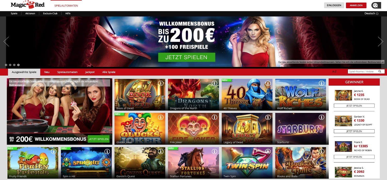 Alle Spiele Magic Red Casino