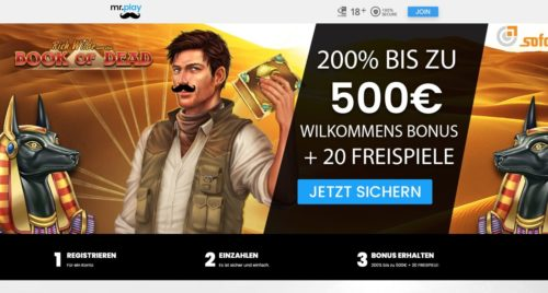Bonus Mr Play Casino