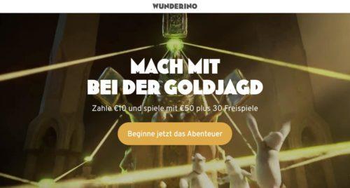 Bonus Wunderino Casino