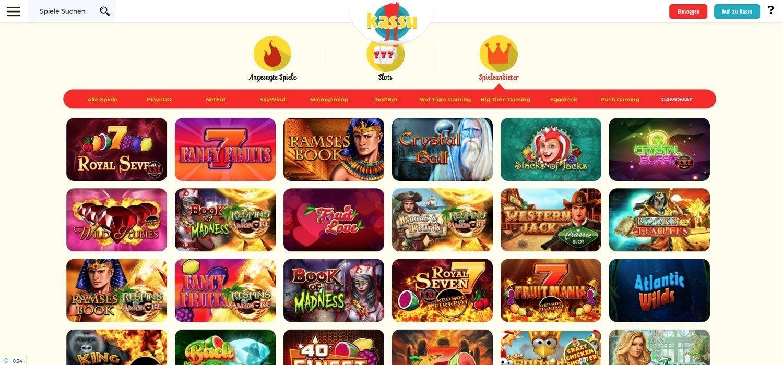 Gamomat Kassu Casino