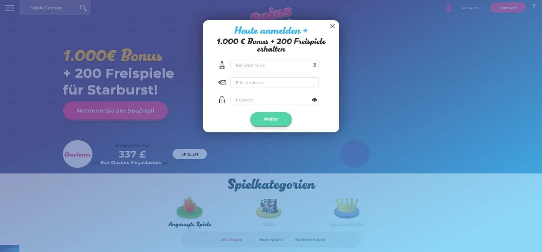 Registrierung Spins Joy Casino