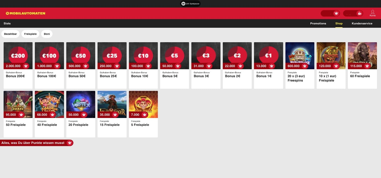 Shop Mobilautomaten Casino