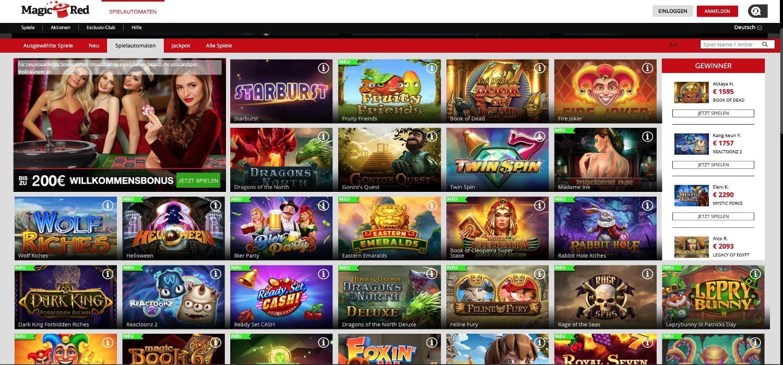 Slots Magic Red Casino