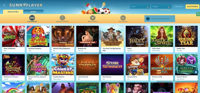 Slots Sunnyplayer Casino