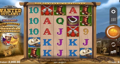 Wanted Outlaws Nobleways Slot Microgaming