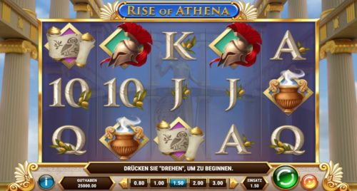 Rise of Athena Slot Play'n Go