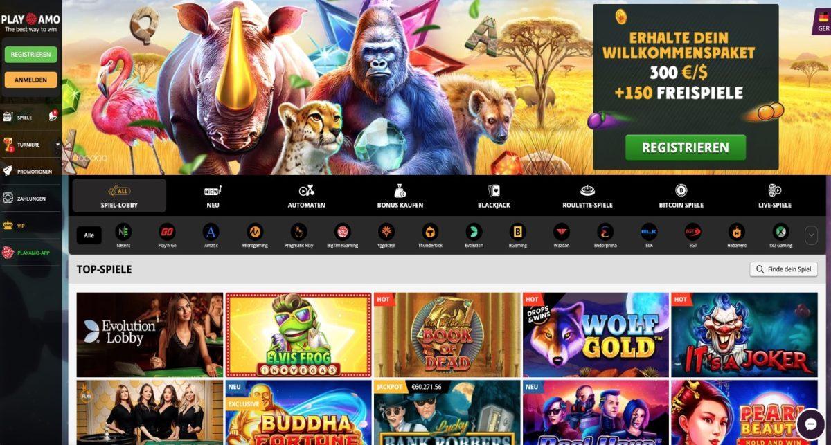 Playamo Casino Bonus