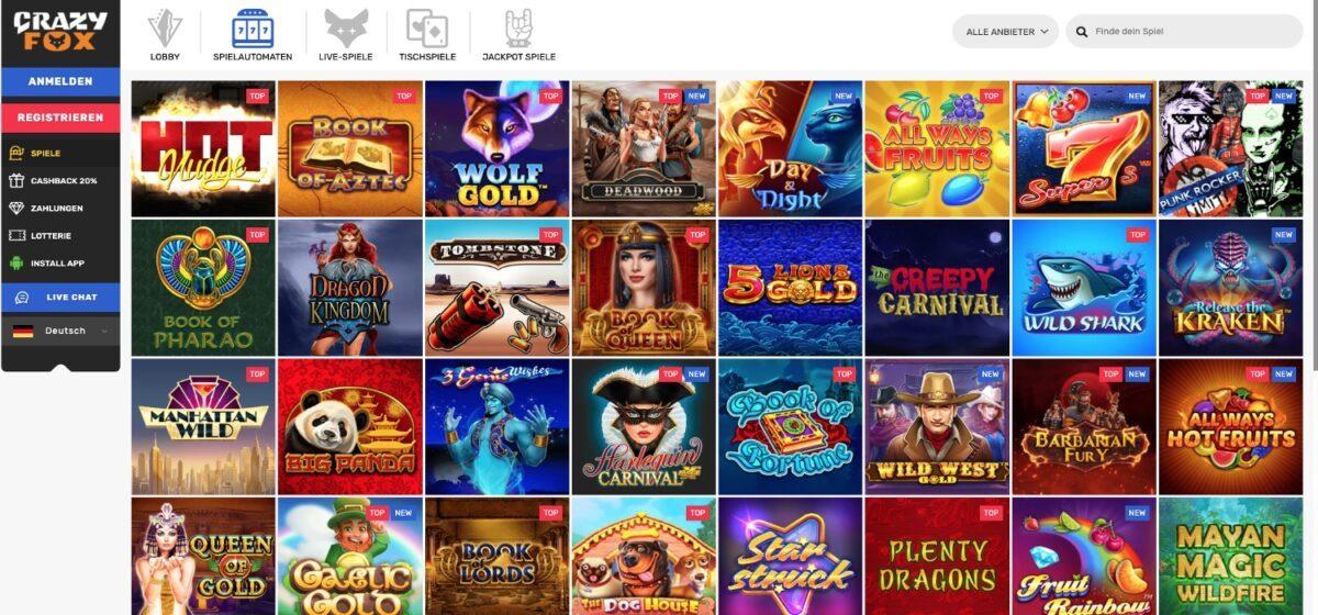 Crazy Fox Casino Slots