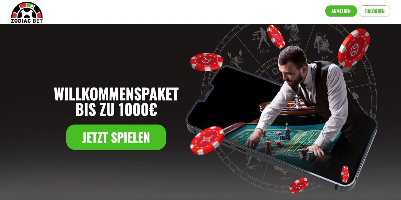 Zodiac Bet Casino Bonus