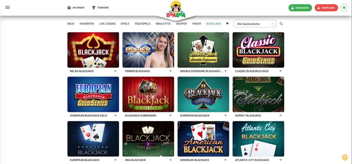 BoaBoa Casino Blackjack