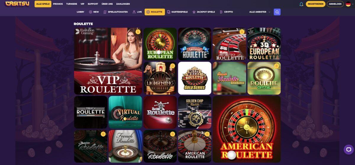 Casitsu Casino Roulette